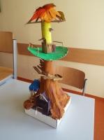 """Architekturmodell """" Baumhaus"""""""